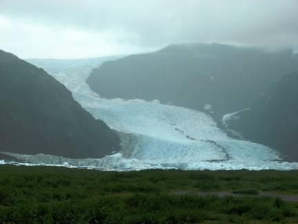 Pederson Glacier, Kenai Glacier Lodge