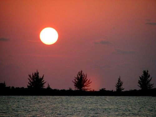 Sunset, Great Sale Cay
