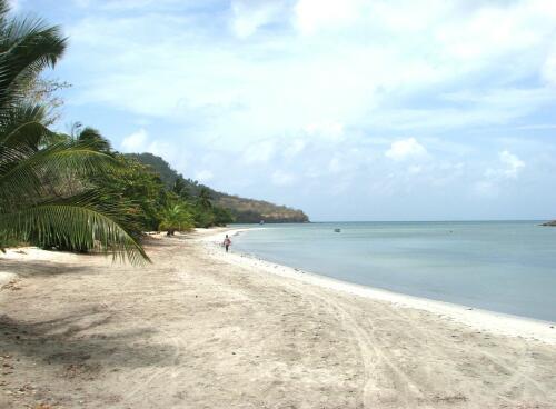 Beach, Isla Providencia, Colombia