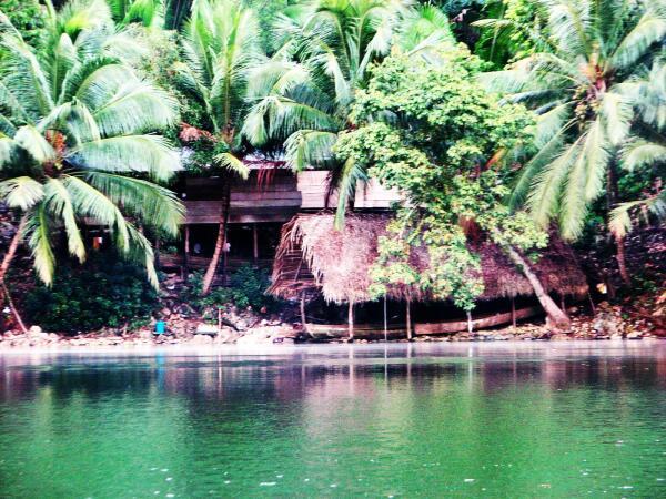Rio Dulce, Guatemala, Mayan settlement