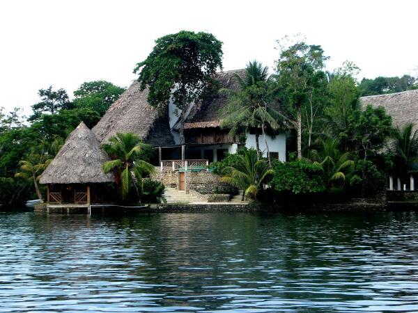 Upscale housing, Rio Dulce, Guatemala
