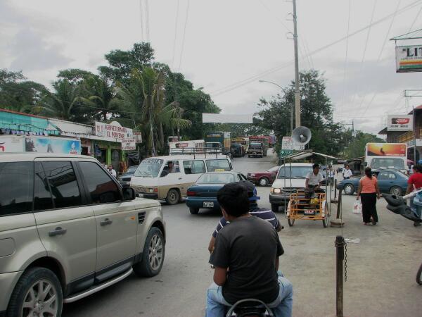 Fronteras traffic jam