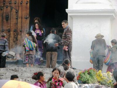 Mayan shaman, Chichicastenango, Guatemala