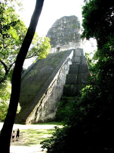 Temple V, Tikal, Guatemala