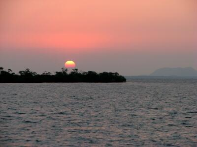 Sunset, Mangrove Cays, Belize