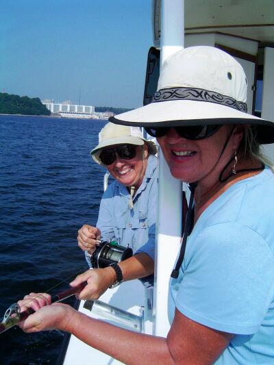 Chesapeake Fishing Trip, photo courtesy Madeline Moodie