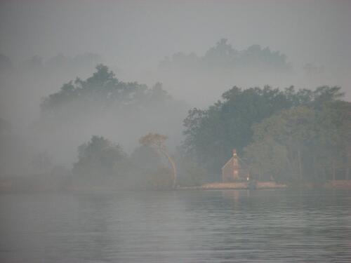 Fog, Rhode River