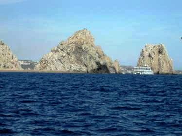 Los Frailes rocks, Cabo San Lucas, Mexico
