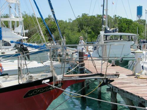 Dock scene, Marina Paraiso, Isla Mujeres