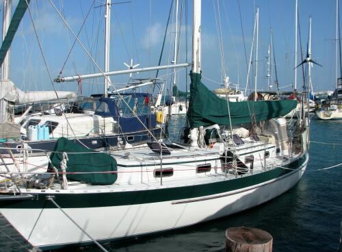 Moira in Marina Paraiso, Isla Mujeres