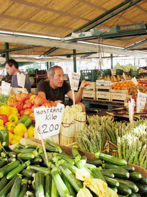 Venice, market