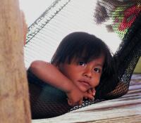 Embera Drua child, Rio Chagres, Panama
