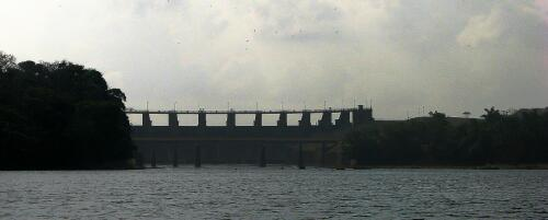 Gaturn Dam, Panama Canal, from Rio Chagres