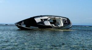 Hallberg-Rassy shipwreck, Holandes Keys, Kuna Yala (San Blas) Panama