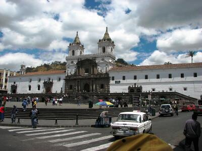 Plaza San Francisco, Quito, Ecuador