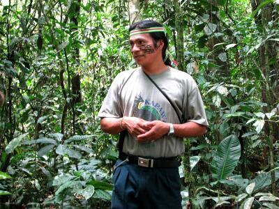 Jorge, Achuar guide, Oriente del Ecuador