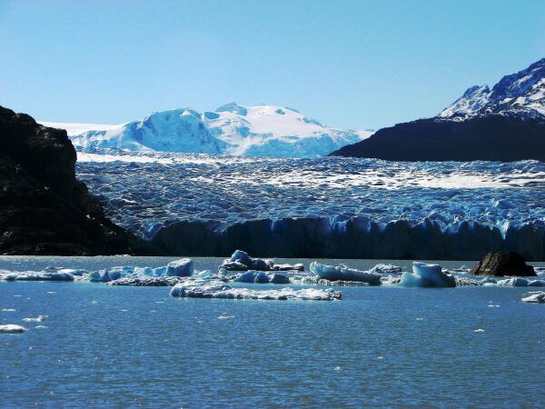 Glacier Grey, Lago Grey, Chile