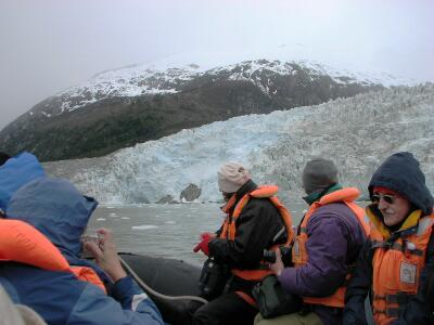 Excursion to Pia Glacier, Patagonia, Chile